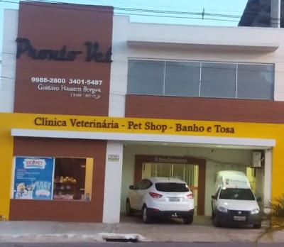 Pronto-Vet Clínica Veterinária - Pet Shop e Banho e Tosa